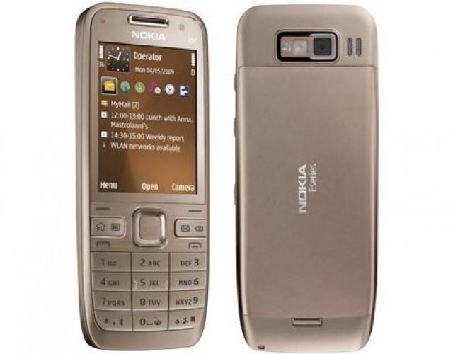 Цены на Nokia E52 (черный, серебристый, белый, бронзовый) Тип телефона Смар